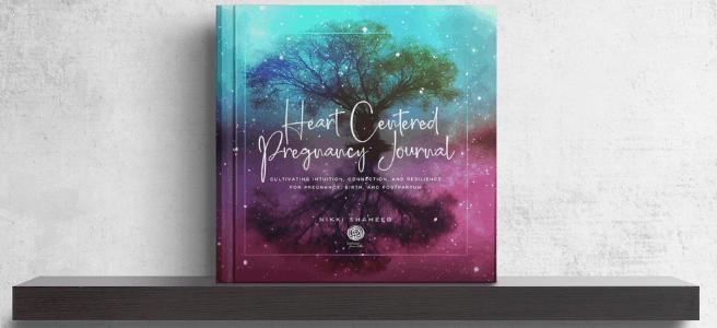 heart centered pregnancy journal